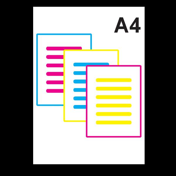 Impressão Colorida A4