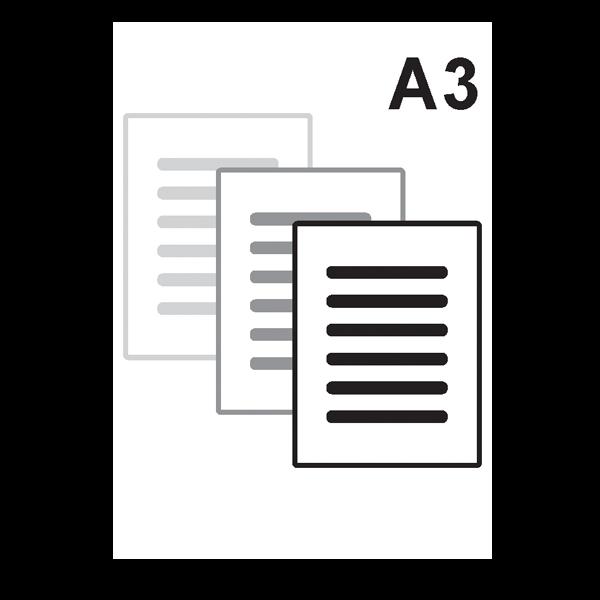 Impressão Preto e Branco A3