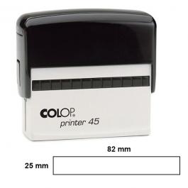 Carimbo Automático Colop Printer 45  82 x  25 mm