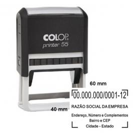Carimbo Automático Colop Printer 55  60 x  40 mm