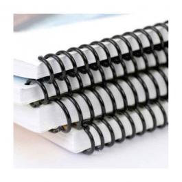 Encadernação Espiral A4 Capa em PVC e Espiral A4 21 x 29,7 cm